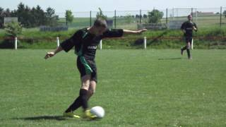 Arrêt du gardien de Quiévy (U19) et main, 08/05/2011