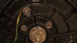 Skyrim - Nordic Doors Puzzles & Skyrim - Folgunthur Puzzle 2 simbolos na porta Ivory Claw Gauldur ...