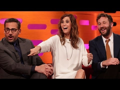 STEVE CARELL KRISTEN WIIG & CHRIS O DOWD Kill & Eat a Fly The Graham Norton Show on BBC AMERICA