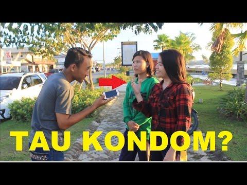 INTERVIEW CEWEK [18+] -Tau Kondom? Fungsi Kondom Apa yaa? Jawaban nya PARAH!!!