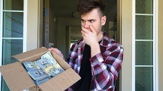 Random Person Leaves $100,000 At My Doorstep..