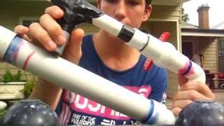 PVC AIR CANNON - BREACH LOADING