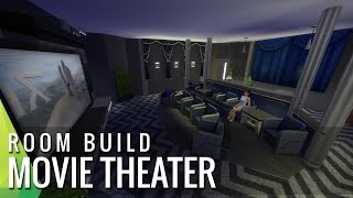 The Sims 4 Room Build - Movie Theater