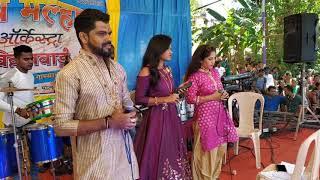 Jayesh Patil & Sonali Bhoir Jay Malhar  Orchestra Vitthalwaddi Yogesh Patil 8805927645