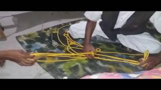 How to Tie Horse Rope Halter full ni indian