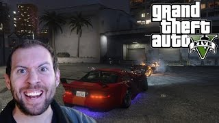 GTA 5 Online (PS4) Multiplayer Gameplay Part 1: Street Wars and Armored Cars!
