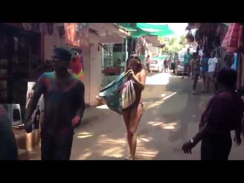 Xxx Mp4 Ise Kehte Hain Holi Khelna In GOA Without Clothes In Public 3gp Sex