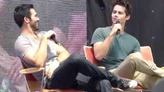 Alpha Con 2014.Tyler Hoechlin and Dylan O'brien panel. Part 7