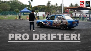 Toyota Corolla Drift 'It's Almost Hit Them BUT'  Retro Havoc 2017