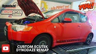Mitsubishi Colt Ralliart Ecutek Remap at Dynodaze