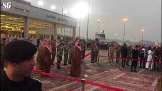 Prince Muhammad Bin Salman inspects security forces