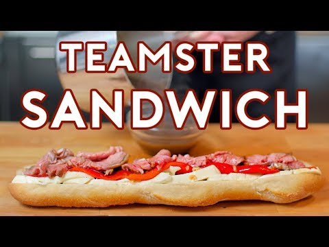 Binging with Babish Teamster Sandwich from 30 Rock