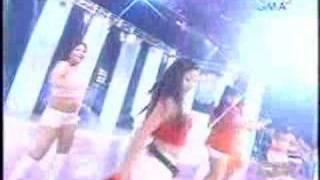 ALYSSA ALANO & KRISTINE REYES IN GMA7 SOP W/ BAYWALK BODIES