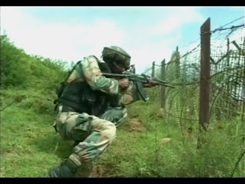 Watch Live visuals of firing on Indo Pak Border