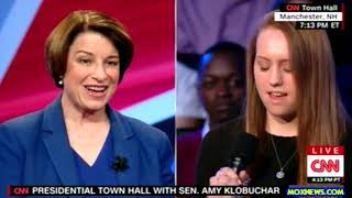 """Amy Klobuchar """"If You're Not At The Table You're On The Menu!"""""""