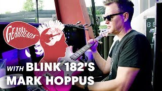 Blink-182's Mark Hoppus Shows Off The Basses He Tours With | Gearheads