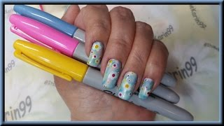 Nail Art - 1st Day Of Spring Collaboration