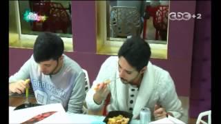 جلسة الطلاب للغداء ومزاح غادة مع عبد السلام وريان  - ستار أكاديمي 10 | 29/09/2014
