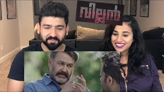 Villian Movie Trailer Reaction | Mohanlal, Manju Warrier | RajDeep |