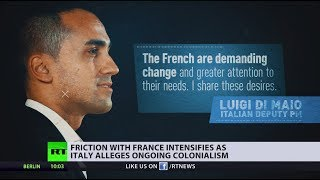'France never stopped colonizing Africa' - Italy's deputy PM