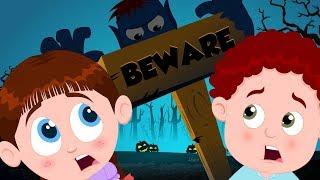 Beware Of The Dark | Schoolies Halloween Videos For Children
