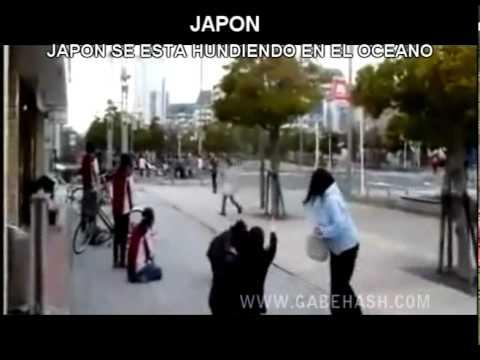 IMAGENES IMPACTANTES JAPON SE HUNDE EN EL OCEANO 2011