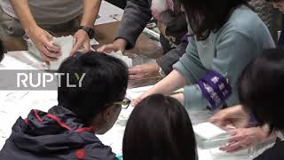 Japan: Votes counted as Abe poised for electoral victory