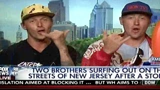 Hilarious surfer interview on FOX NEWS fail
