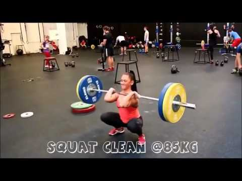 Suzanne Svanevik - young sexy crossfit girl  GYM BABES tv