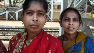 women collecting recycling matters.flv