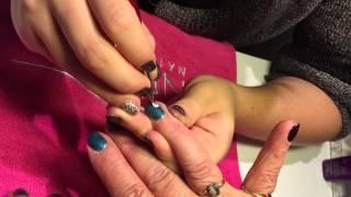 JSO - Pose : Vernis Semi-permanent + Nail Art Fleurs