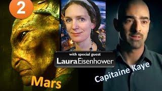 حروب على كوكب المريخ و قواعد بشرية منذ الخمسينات و الشعوب غافلة 2 !