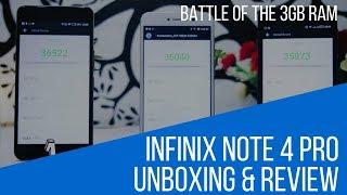 Infinix Note 4 Pro X571  Review: Note 4 Pro vs Hot S2 Pro vs Gionee A1 Lite.