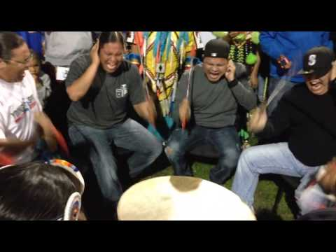 Young spirit@ o'chiese powwow 2014