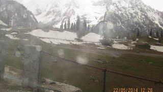 Sonamarg To Thajiwas Glacier Full Return Journey - Kashmir Tourism Video