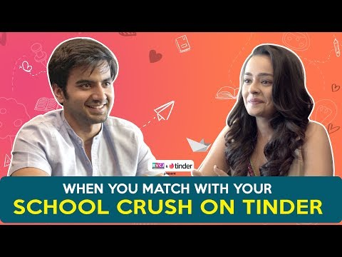 Xxx Mp4 When You Match With Your School Crush On Tinder Ft Ayush Mehra Amp Apoorva Arora RVCJ 3gp Sex