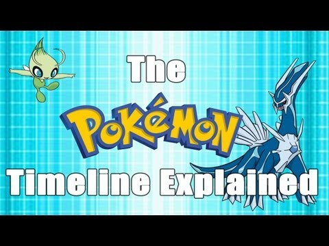 The Pokémon Timeline Explained