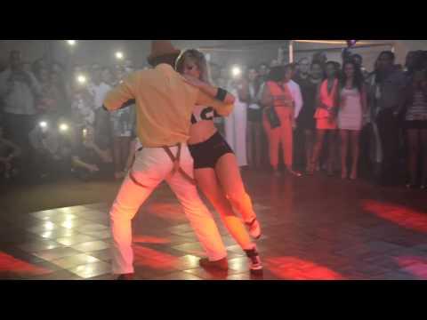 SEXY Sara Lopez Dancing Kizomba Bario Latino 19-07-14 HD music