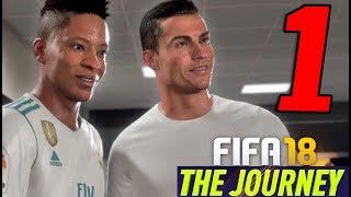 FIFA 18 THE JOURNEY: IL RITORNO DI HUNTER [Walkthrough Gameplay ITA HD - PARTE 1] - RONALDO e WALKER