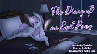 Pony Tales [MLP Fanfic Reading] The Diary Of An Evil Pony (romance - Fleur de Lis/Fancy Pants)