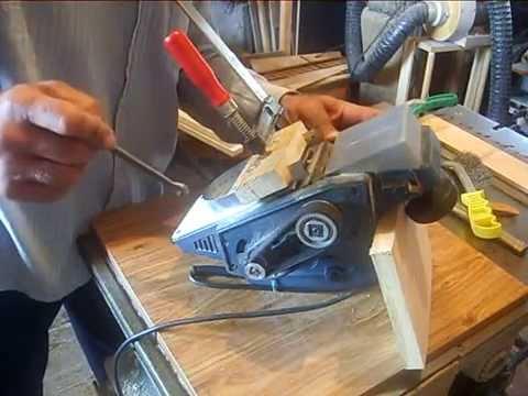 Заточка ножей электрорубанка своими руками