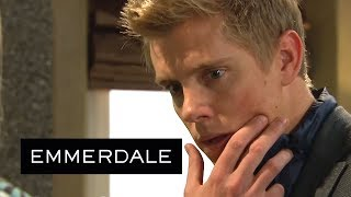 Emmerdale - Rebecca Furiously Slaps Robert After Exposing His Plan