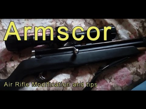 Armscor air rifle, pano pagandahin at mga karanasan part 2