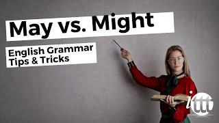 May vs Might   Ask Linda!   English Grammar