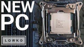 MY NEW PC BUILD! (Intel i9-7900X, 1080 Ti, 64 GB DDR4, Kraken X62)