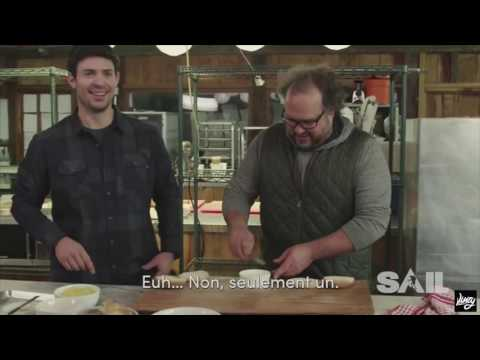Cooking with Carey Price | Poutine & Burger
