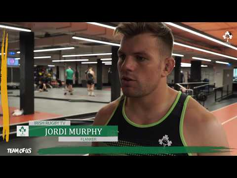 Ireland Down Under: Jordi Murphy In The Gym & On The Tour