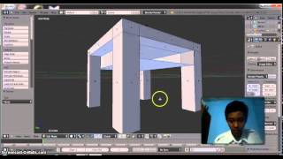 Cara Membuat Meja Dan Kursi Dari Blender