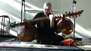 Raag Jog - Jeff Lewis (rudra vina) SIMA Recital