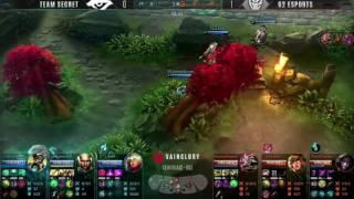 G2 Esports Vs. Team Secret GAME TWO: Vainglory 8 Spring Opener EU Split 2 Week 2